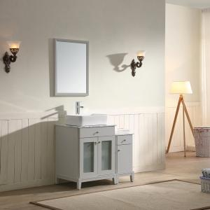 "Julie Vanity Set 36"" AAJU-3604 Light Grey"