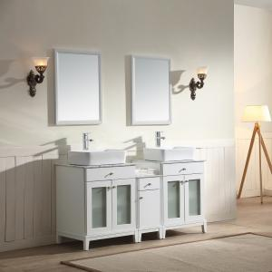 "Julie Vanity Set 60"" AAJU-6001 Pure White"